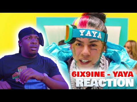 6IX9INE- YAYA (Official Music Video) REACTION!!
