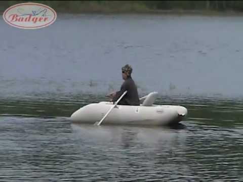 Инзер 1(310)гр! Обзор одноместной гребной надувной лодки ПВХ - YouTube