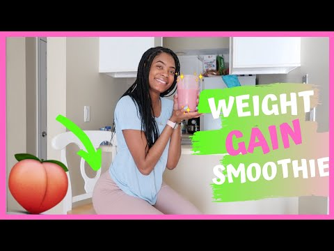 The BEST Weight Gain Smoothie // Grow Your ��