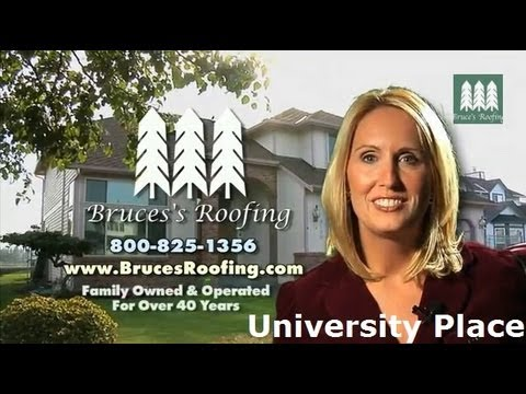 Roofing in University Place Wa - Repairs - Contractor - Experience - Bruces Roofing - Free Estimates