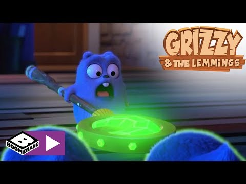 Grizzy & the Lemmings |  Wand of power | Boomerang Africa