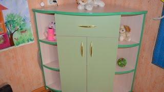 Как сделать угловой комод. Children's furniture