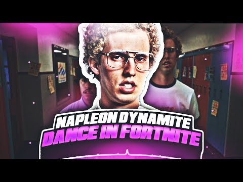 Napoleon Dynamite Dance In Fortnite! (Groove Jam, Orange Justice, Hype, Etc) IRL DANCES