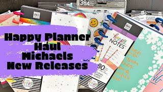 Happy Planner Haul | New Releases from Michaels | Radiate Positivity & Womankind