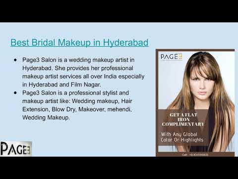 Best Hair Salon In Hyderabad Youtube