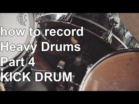 How to Record Heavy Drums part 4 KICK DRUM | SpectreSoundStudios TUTORIAL