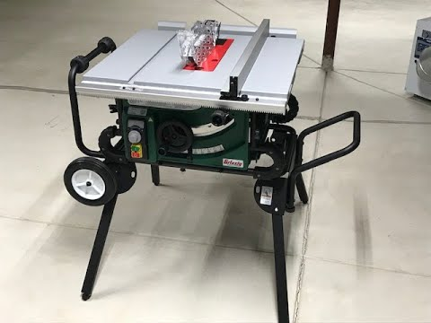 Best Portable Table Saw 2020.The Best Portable Table Saw Assembly And Review Of The Grizzly G0870 Portable Table Saw