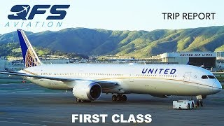 TRIP REPORT | United Airlines - 787 10 - New York (EWR) to San Francisco (SFO) | First Class