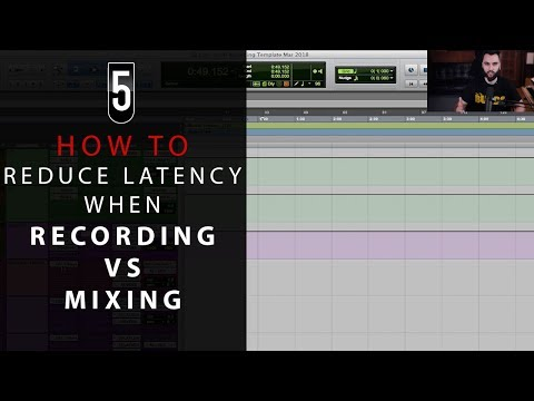How To Reduce Latency While Recording in Pro Tools & Other DAWs