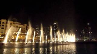 Dubai Fountain - 'The Prayer' HD