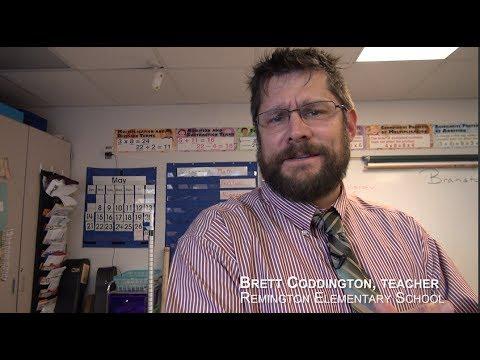 Brett Coddington, Teacher - Remington Elementary School
