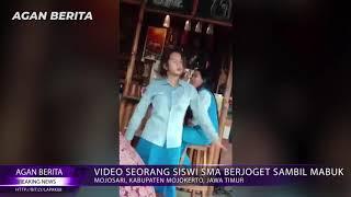 Video Seorang Siswi SMA Berjoget Sambil Mabuk
