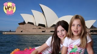 Charli & Ashlee visit the Sydney & see the Opera House (where Nemo lives)