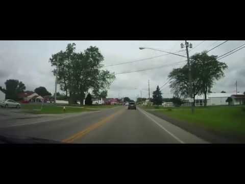 Driving from Elyria, Ohio to Cedar Point Amusement Park