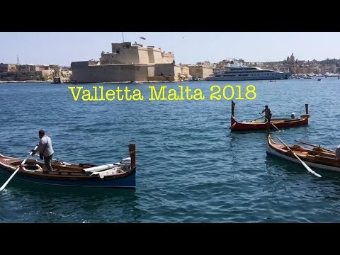 Valletta Malta 2018 Capital of Culture