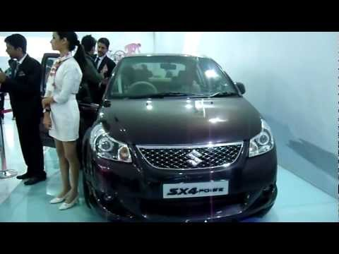 Maruti Suzuki SX4 Poise Sports Concept at Auto Expo 2012, New Delhi, India