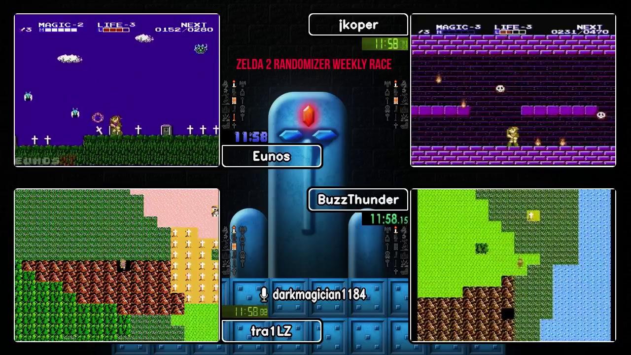 051018 Zelda II Randomizer Weekly Race
