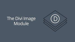 The Divi Image Module