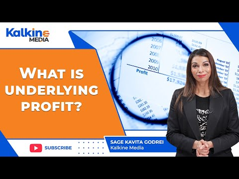 What is Underlying Profit?
