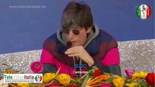 TeleVideoItalia.de - Intervista Bugo dopo la squalifica dal Sanremo 2020