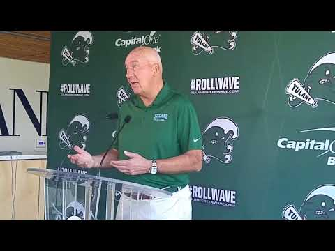 Tulane's Mike Dunleavy Sr. talks about the upcoming men's basketball season