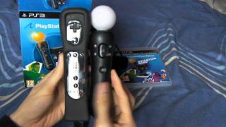 Sony Playstation Move UK Starter Pack Unboxing