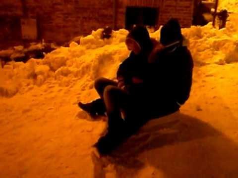 2012 la fine di un inizio di nevee!!! via pace macerata