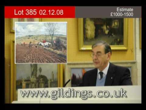 Lot 385 :: 02/12/08 :: Gildings Auctioneers :: Fine Art & Antiques Sale