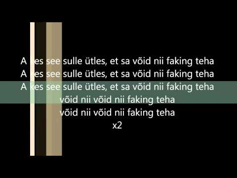 Suur Papa - Estonian Business Lyrics