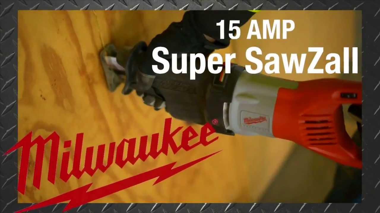Milwaukee 15 AMP Super Sawzall Reciprocating Saw The Home Depot