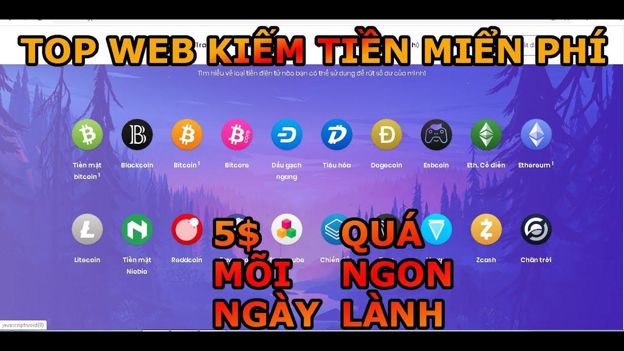 TOP WEB KIẾM TIỀN MIễN PHÍ LÂU DÀI UY TÍN 100% & KIẾM TIỀN ONLINE