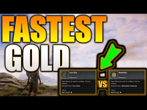 New World - Best Money Making Methods In Gathering  - New World Fastest Gold Method - New World Gold