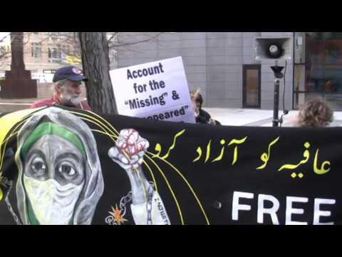 Free Dr Aafia Siddiqui! Federal Building NYC - 3/11/2016