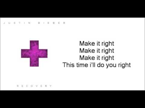 Justin Bieber   Recovery Lyrics Video