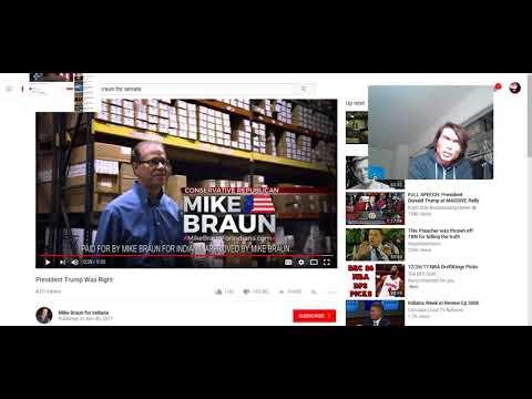 Chris Lucas vs Mike Braun for Indiana Senate in Republican Primary