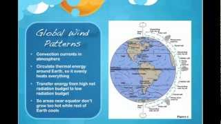 Winds, Global Wind Patterns, and the Coriolis Effect