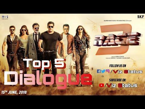 Top 5 Dialogue || Race 3 || Salman Khan ||...