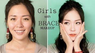 Chia Sẻ & Hướng Dẫn Trang Điểm cho các bạn Niềng Răng - Girls with Braces Make Up | Linh Linh Makeup