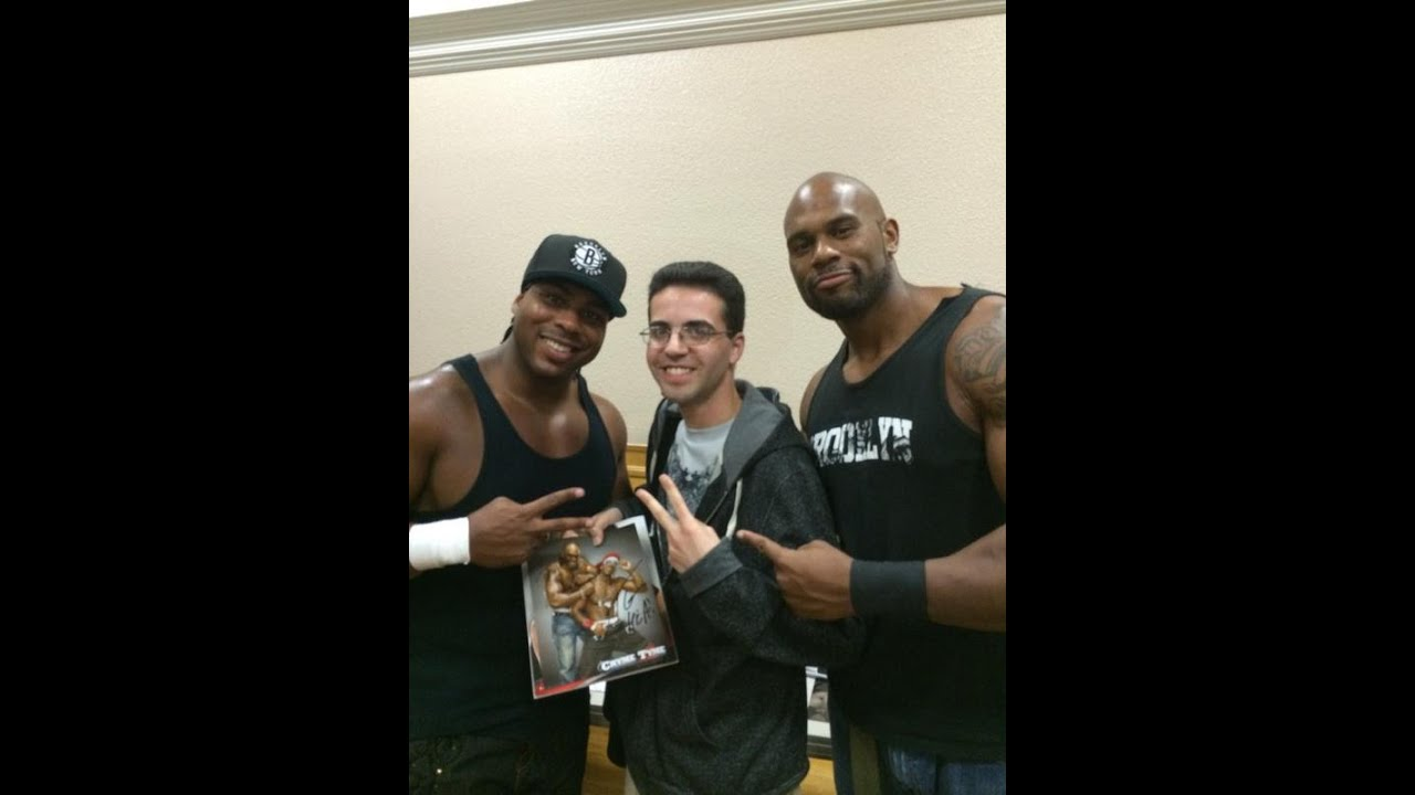 Meeting Cryme Tyme At Btw Tag Team Triumph Youtube