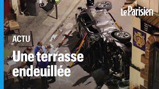 Paris : un chauffard percute la terrasse d'un bar, une femme tuée et 6 blessés