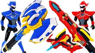 Miniforce Super dinosaur power  4 transform Change Weapon! Defeat the Thanos!   DuDuPopTOY