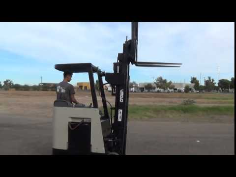 1998 Crown RC3000 3000lb Capacity Stand Up Electric Forklift 48v For Sale In Phoenix AZ