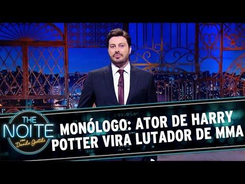 The Noite (28/04/16) - Monólogo: Ator de Harry Potter vira lutador de MMA