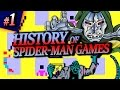 History of Spider-Man Games | Part 1: Spider-Man; Questprobe: Spider-Man & Doctor Dooms Revenge