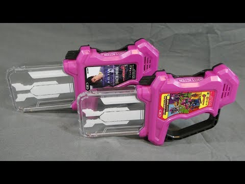 Kamen Rider Ex-Aid | DX Mighty Action X Gashat (Theme Song Ver.) & (Battle Sound Ver.) Review