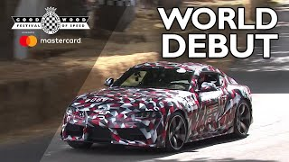 New Toyota Supra makes world debut at FOS thumbnail