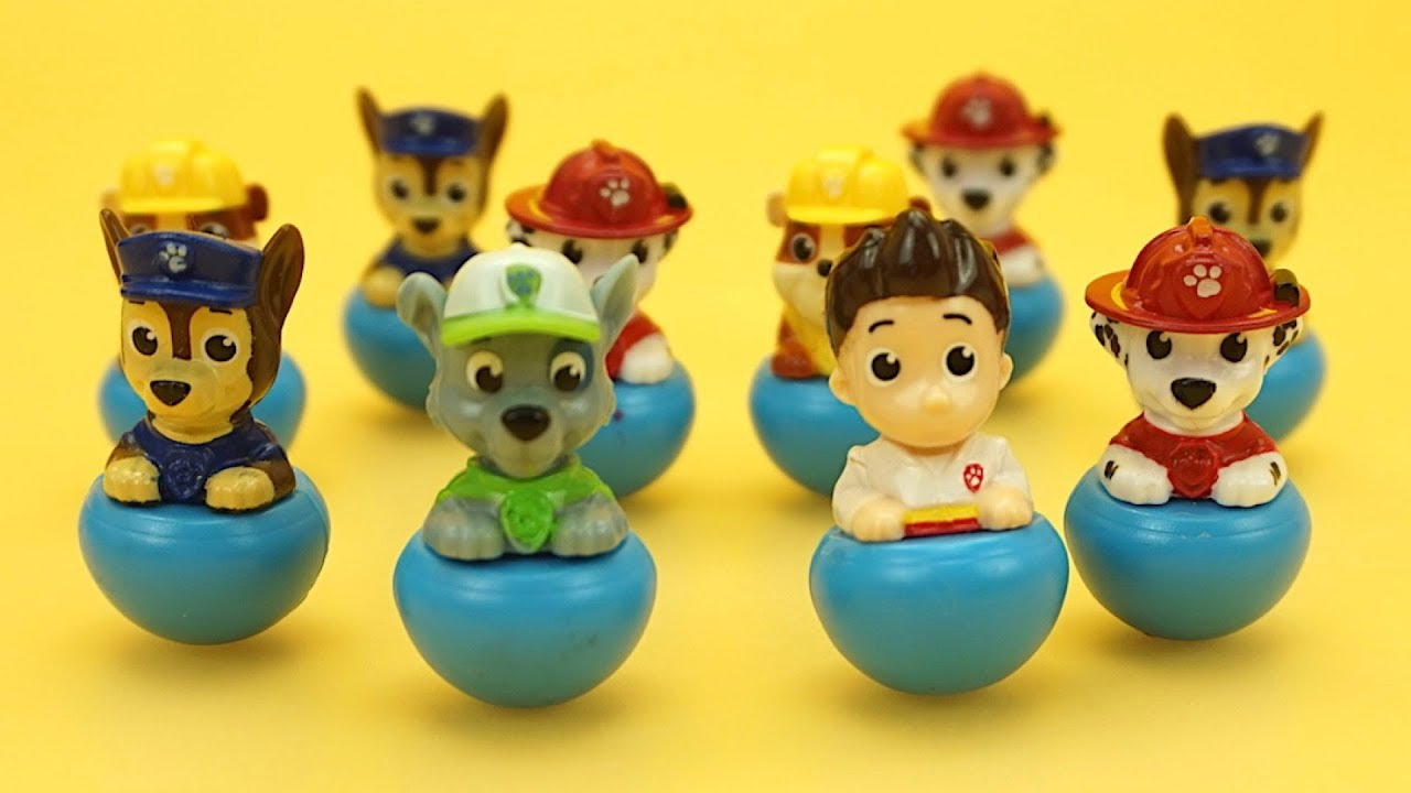 Щенячий Патруль сюрпризы для детей, ищем игрушки из мультиков