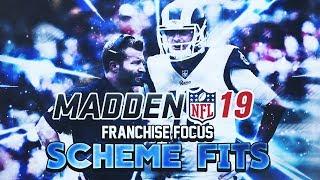 MADDEN NFL 19 FRANCHISE FOCUS: SCHEME FIT