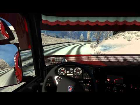 Euro Truck Simulator 2 Lamia Greece to Tirana Albania