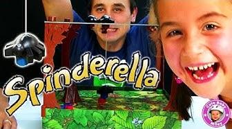 Wir spielen SPINDERELLA das Kinderspiel des Jahres 2015 - Kinderkanal